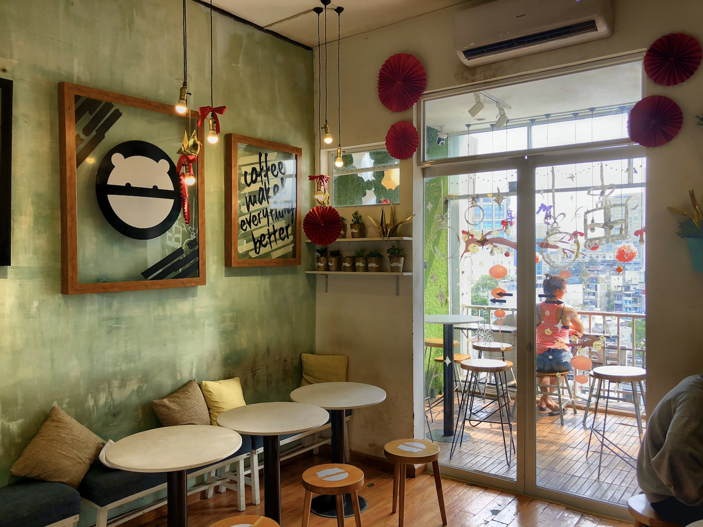 Boo Café, The Café Apartments, Ho Chi Minh, Vietnam