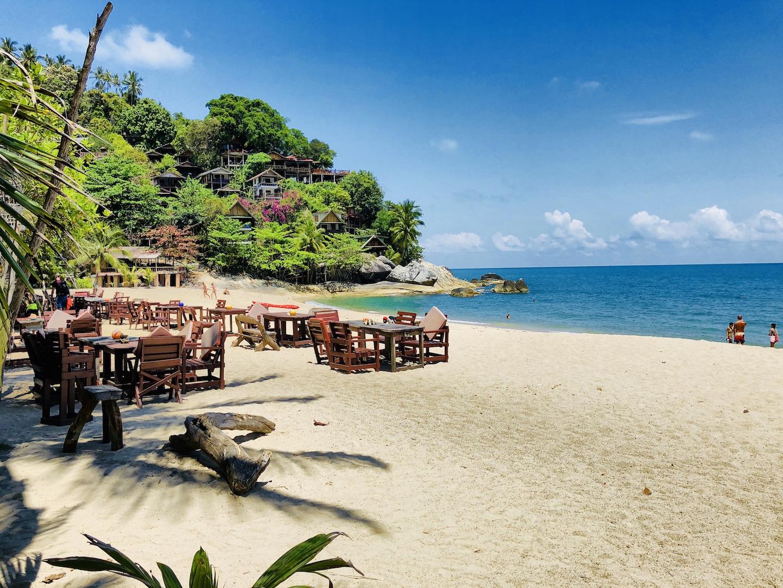 Maan Pai Beach, Kho Phangan, Thailand