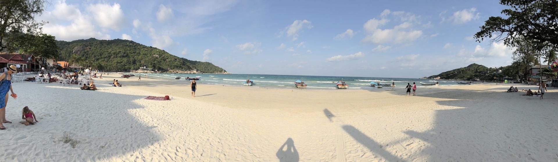 Haad Rin Beach, Kho Phangan, Thailand