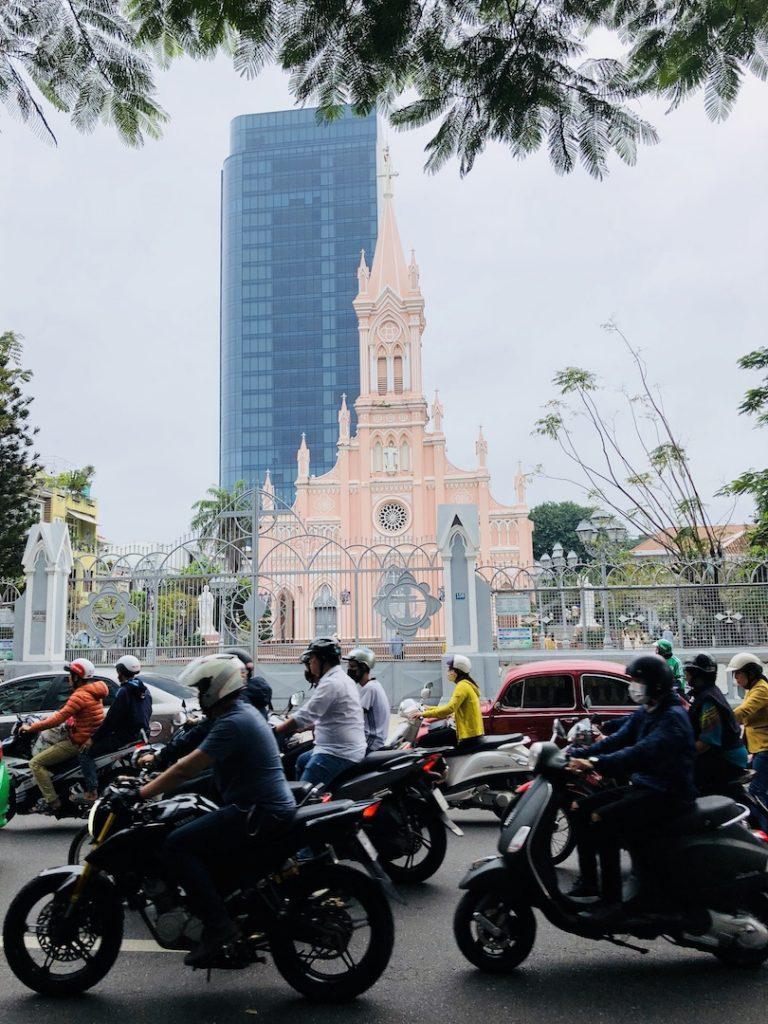 Verkehr in Da Nang, Vietnam
