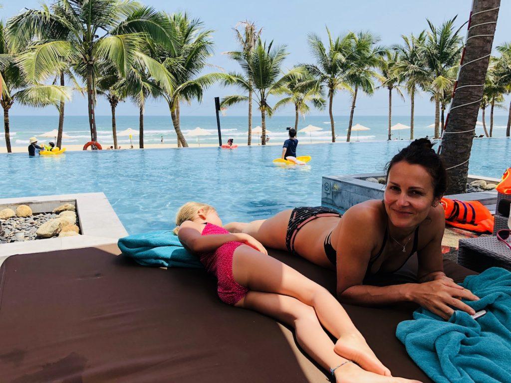 Tag am Pool, Da Nang, Vietnam