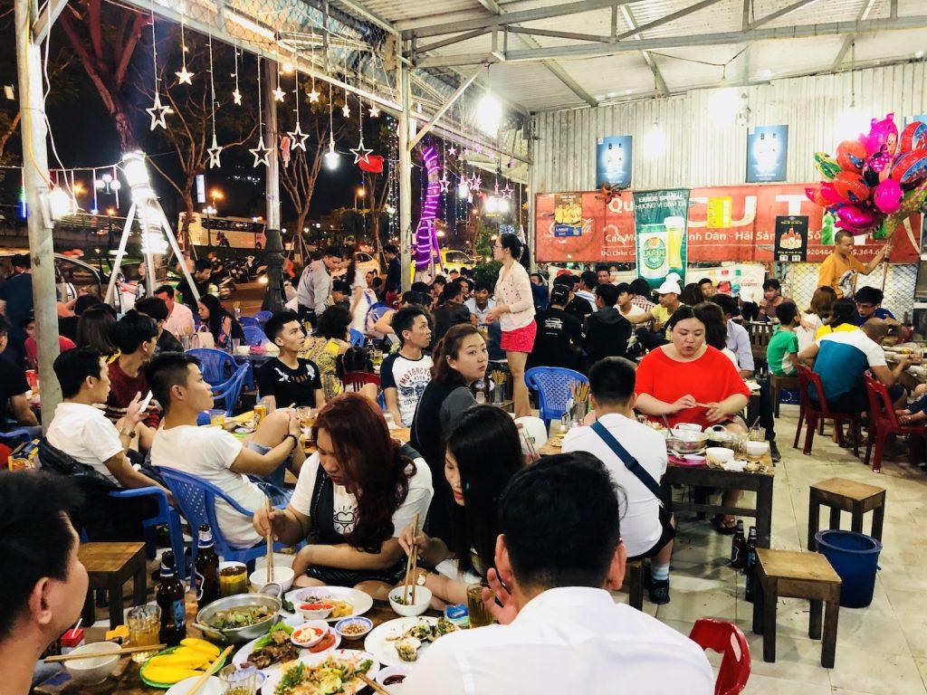 Garküche in Da Nang