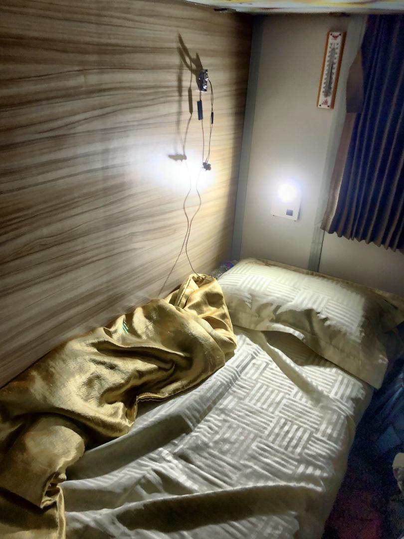 Schlafplatz im Zug, Vietnam
