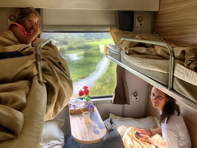 Im Zug nach Saigon, Vietnam