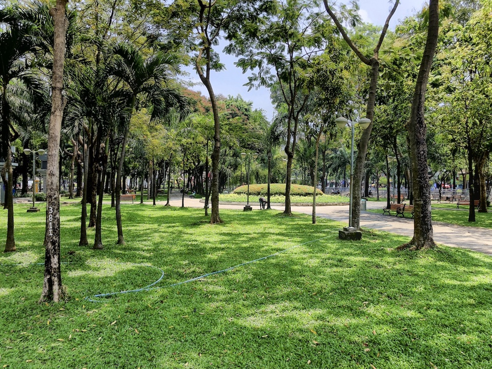 Park, Ho Chi Minh, Vietnam