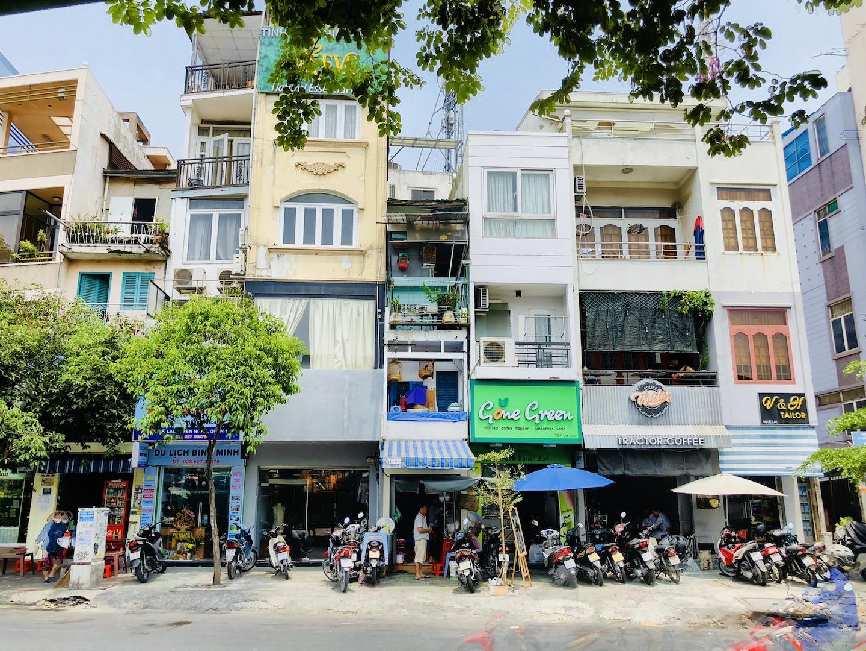 Schmale Häuser, Ho Chi Minh, Vietnam