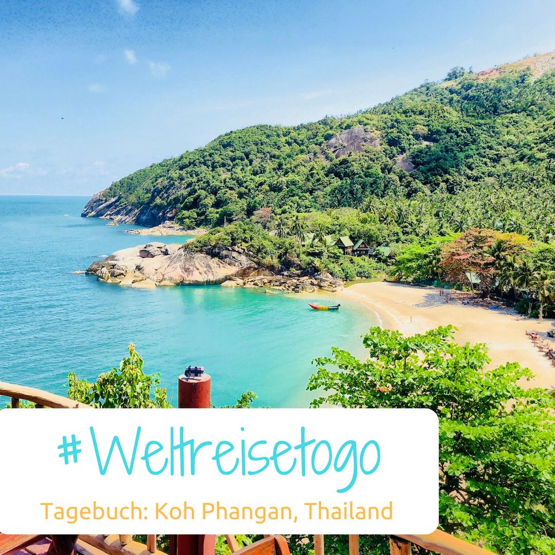 Weltreise to go, Tagebuch Kho Phangan, Thailand