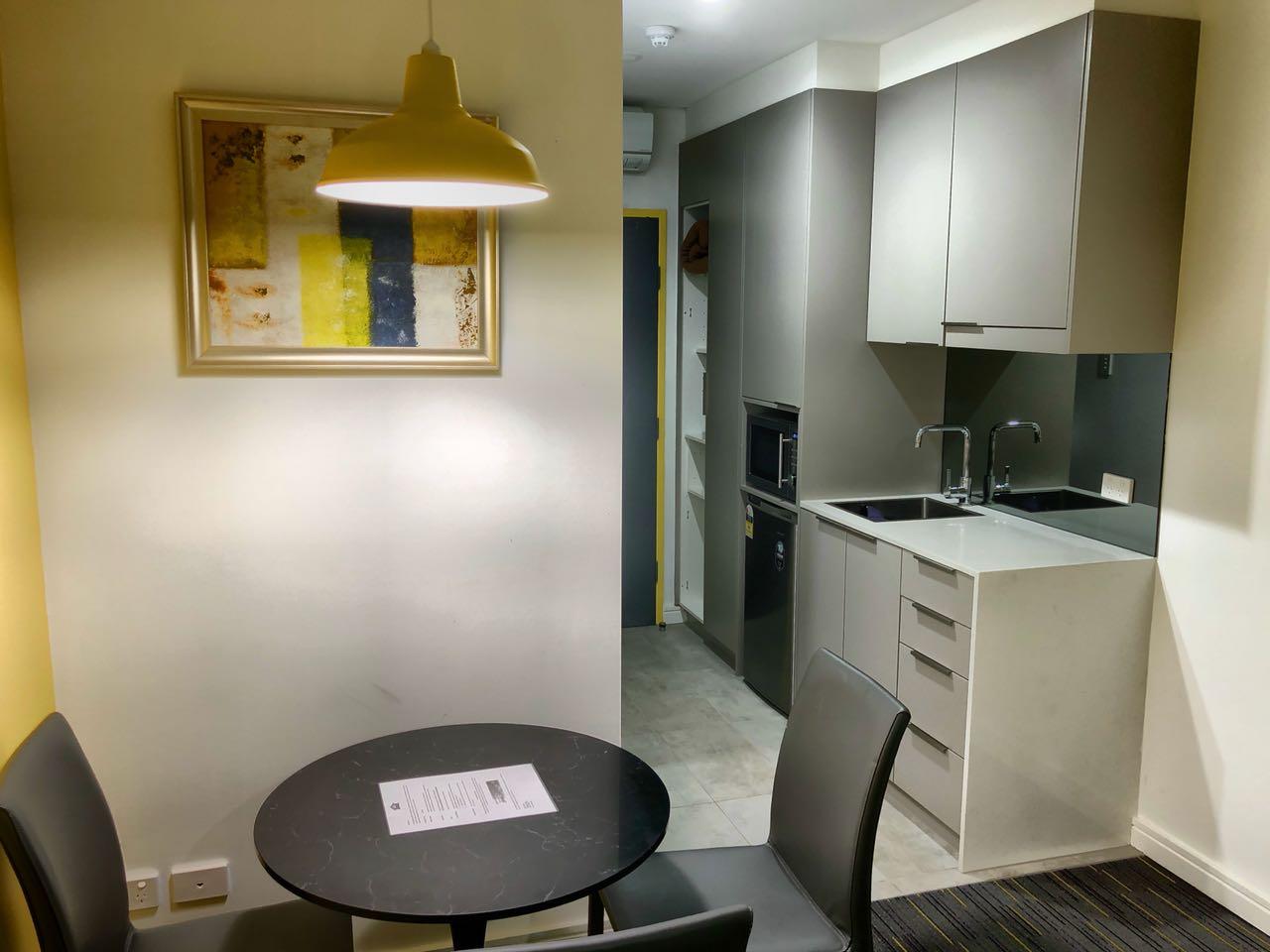 Zimmer im Value Suite Greensquare Hotel, Sydney, Australien