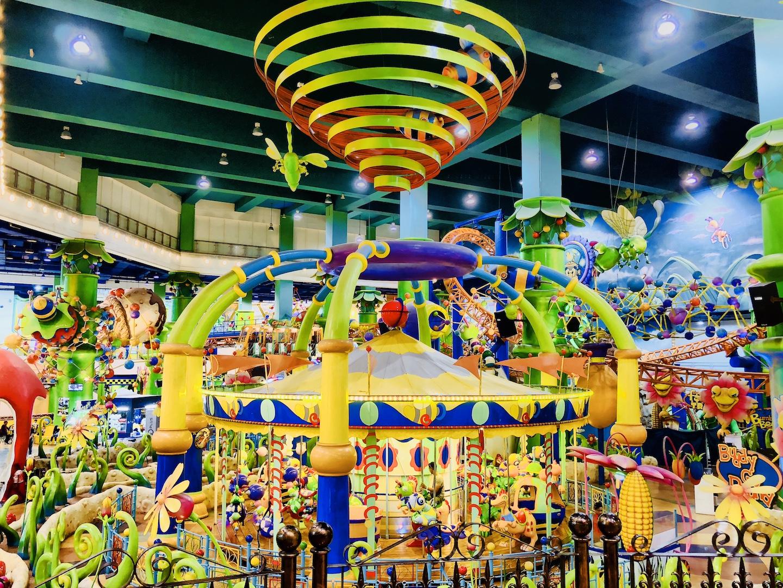 Themepark, Berjaya Mail, Kuala Lumpur, Malaysia