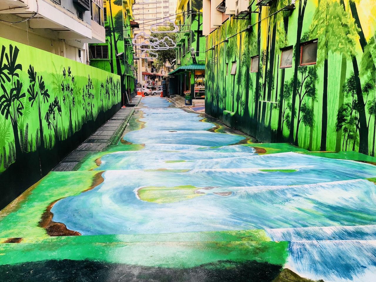 Streetart, Kuala Lumpur, Malaysia