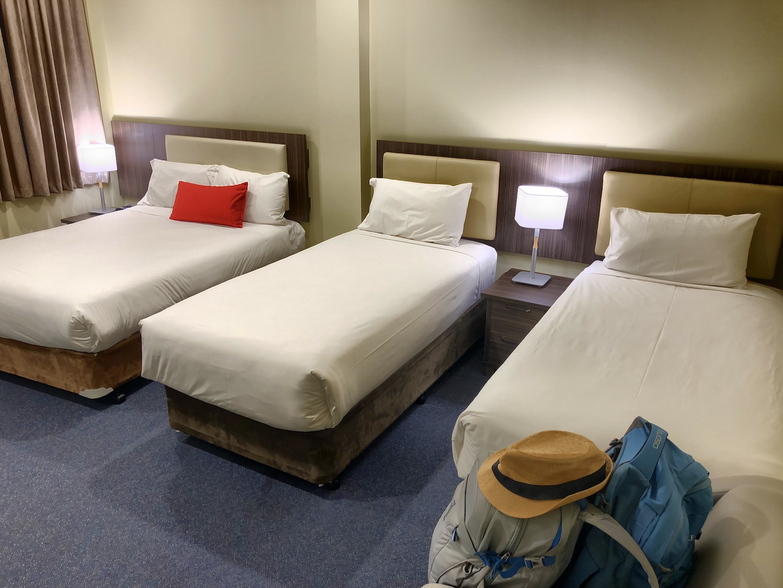 Zimmer im Ibis Style Hotel in Melbourne, Australien