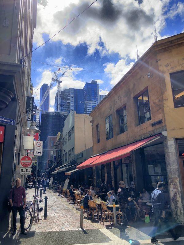 Café in Melbourne, Australia