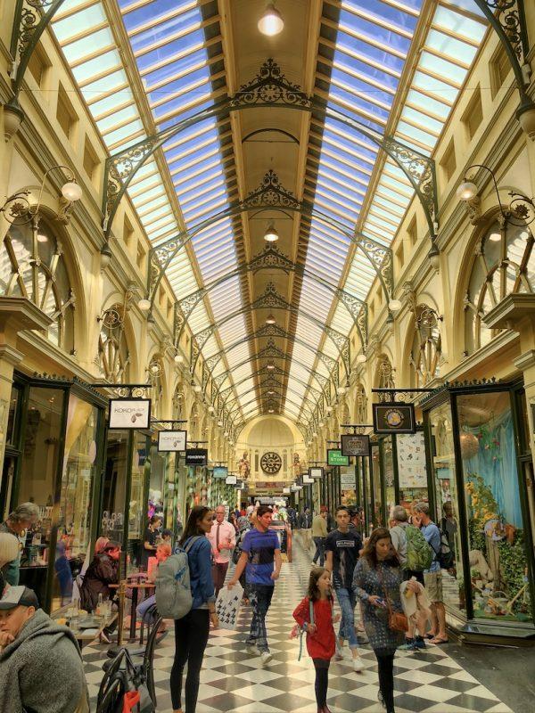 Arcaden in Melbourne, Australien