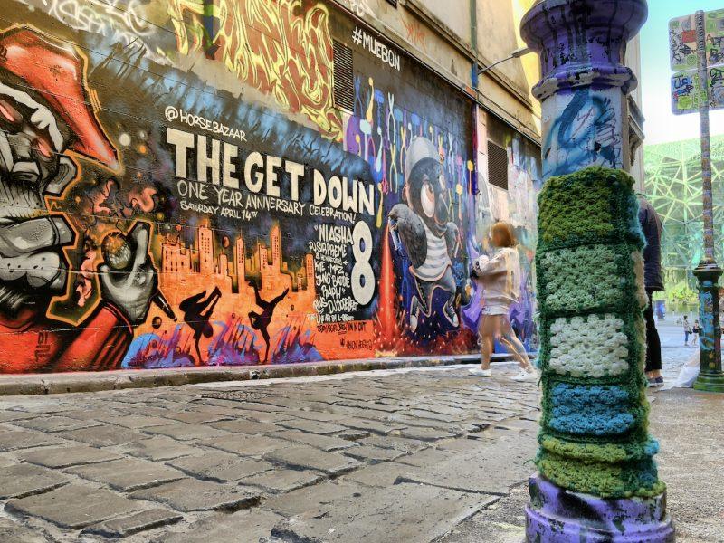 Streetart, Melbourne, Australien