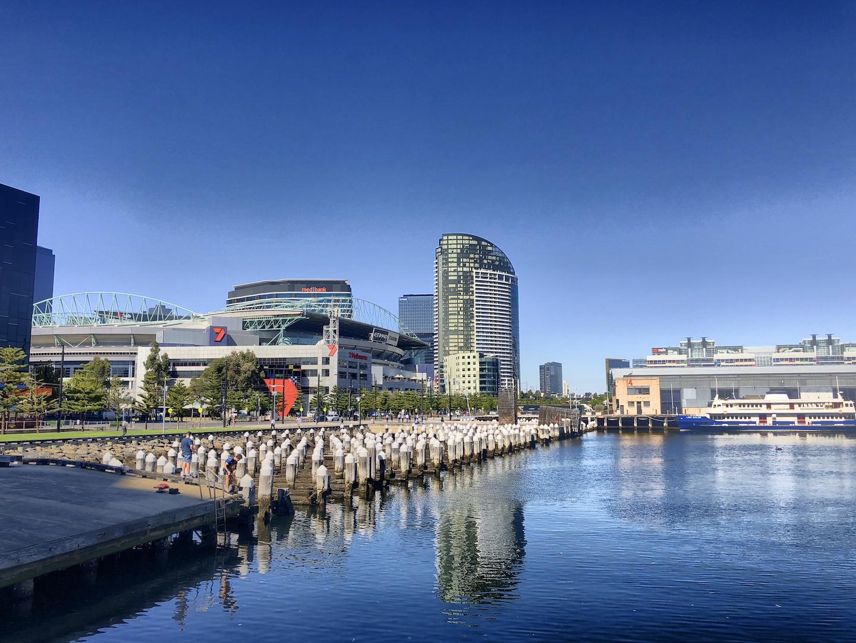 Docklands, Melbourne, Australien