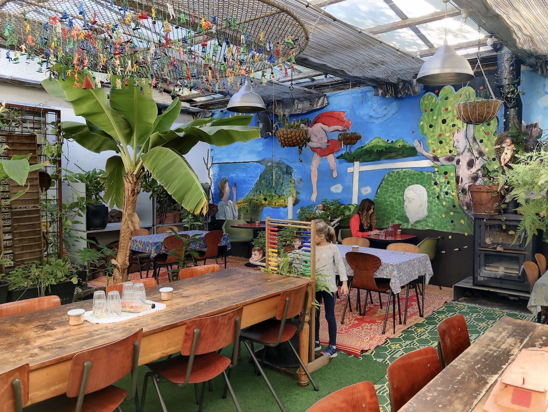 Café in Fitzroy, Melbourne, Australia