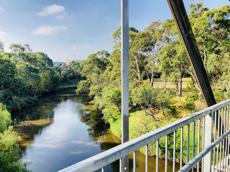 Yarra River, Melbourne, Australien