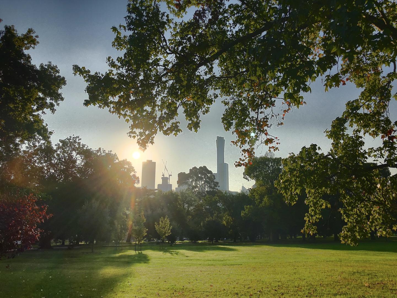 Botanic Garden, Melbourne, Australien