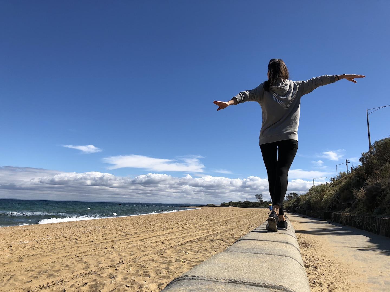 Brighton Beach, Melbourne, Australien