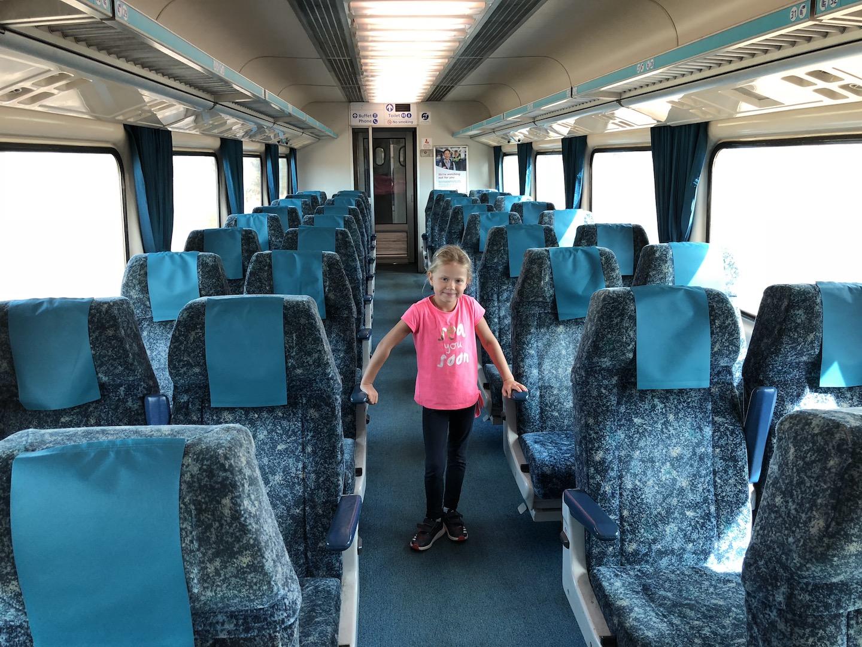 Zug nach Sydney, Australien