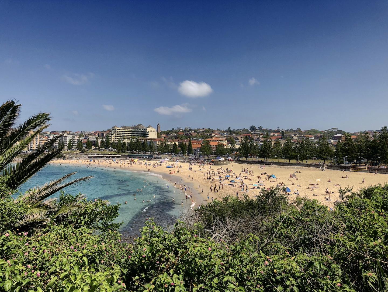 Bucht mit dem Coogee Beach, Sydney