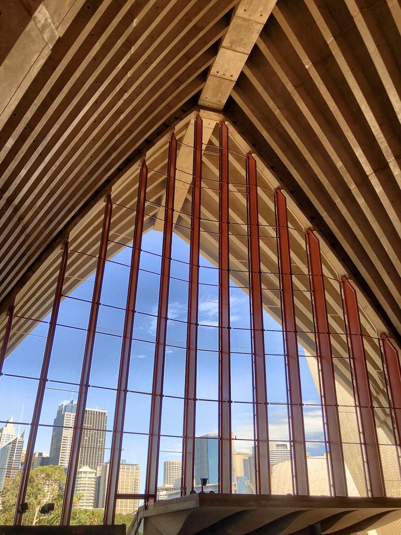 Sydney Opera House von innen