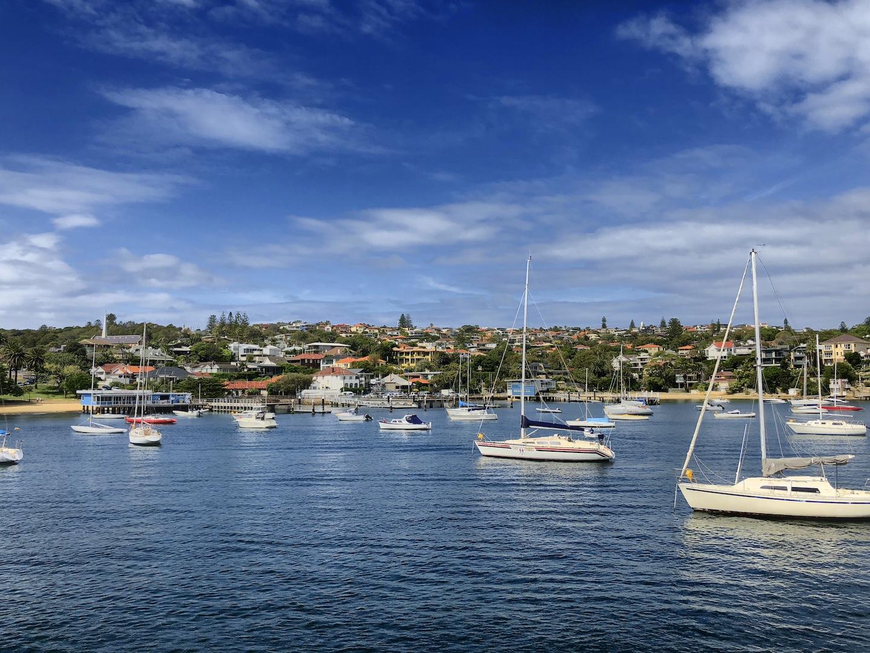 Einfahrt nach Watsons Bay, Sydney