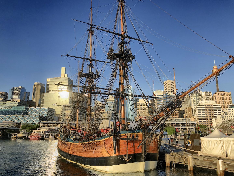 Schiffe im Darling Harbour, Sydney