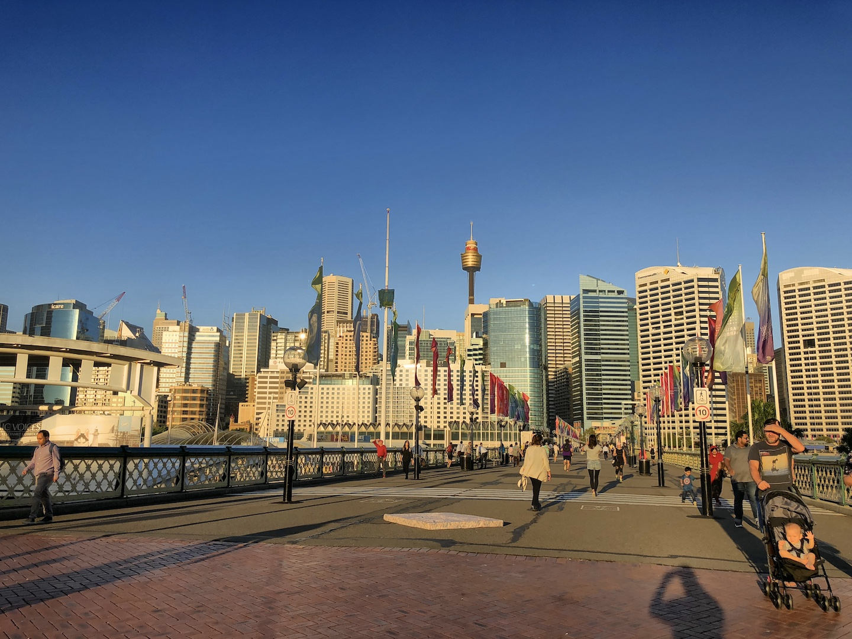 Pyrmont Bridge, Darling Harbour, Sydney
