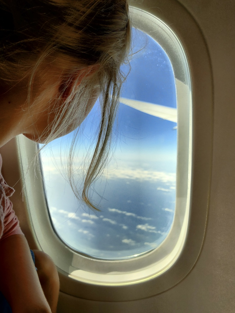 Auf dem Weg nach Auckland im Dreamliner von Latam Airlines