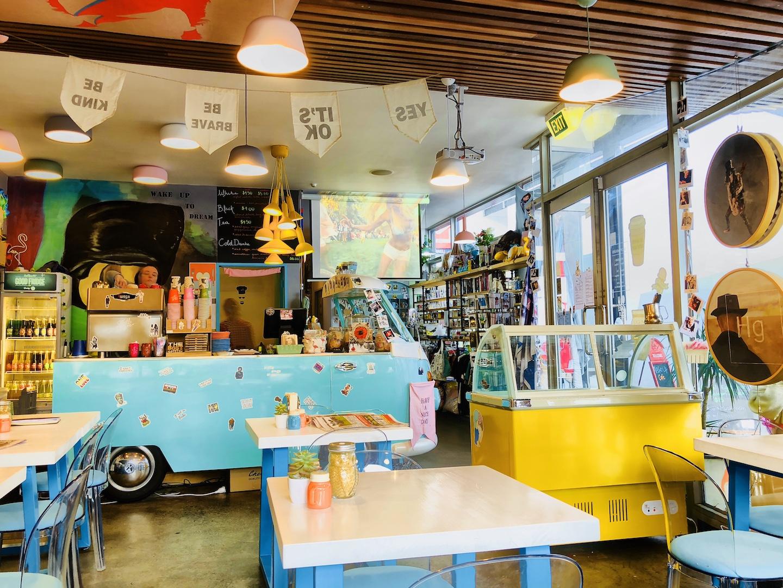 Café Wake Up im Parnell Village, Auckland