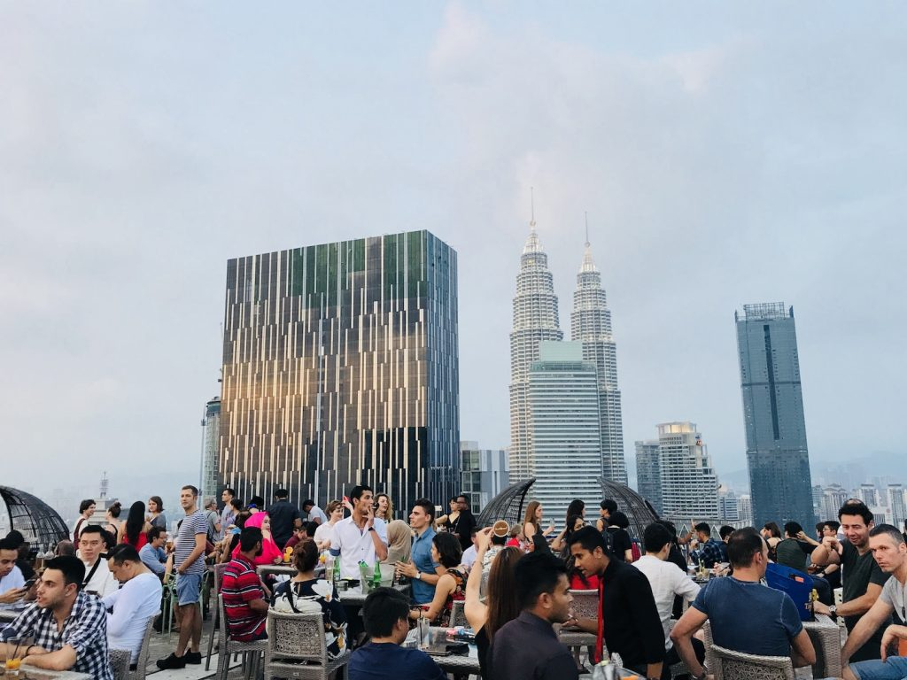 Helipad Bar, Kuala Lumpur, Malaysia