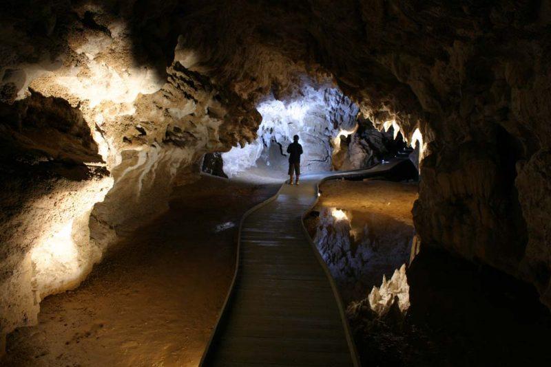 Stalaktiten Höhle, Auenland, Neuseeland