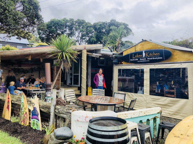 Luke's Kitchen in Kuaotunu, Neuseeland