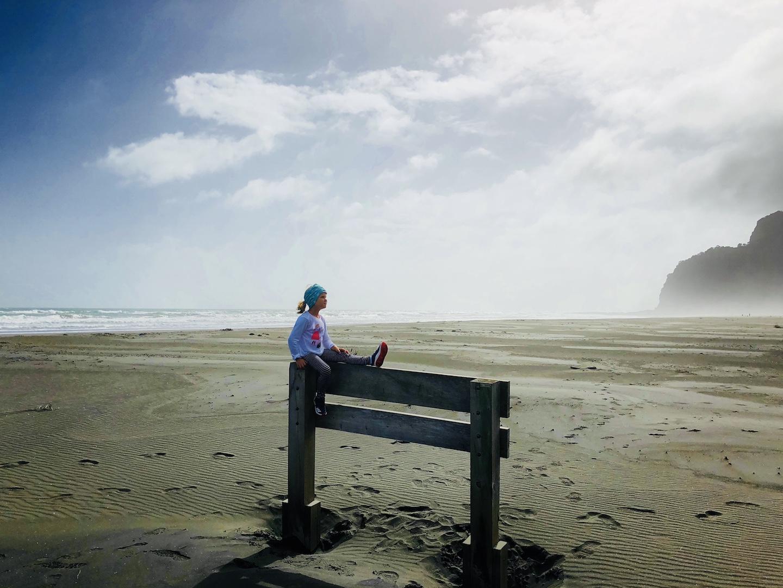 Karekare Beach, Neuseeland