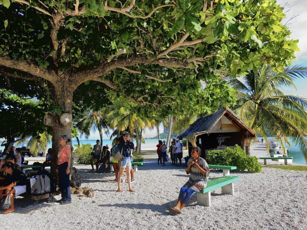 Flughafen Maupiti, Südsee Urlaub