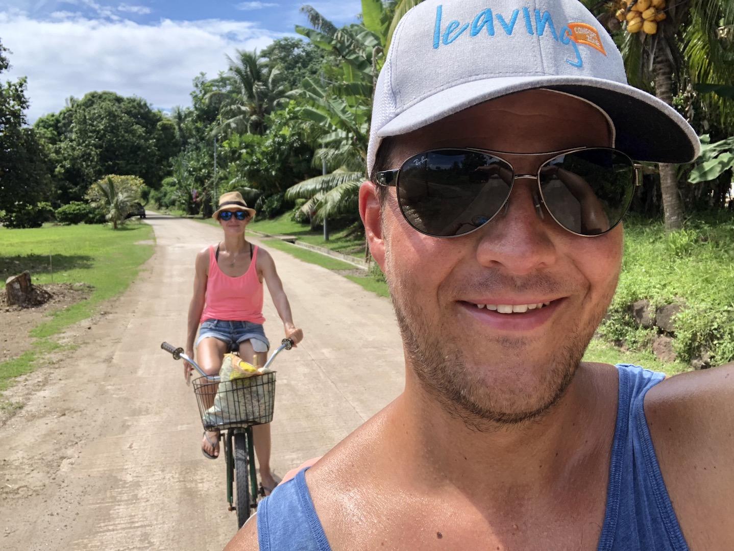 Fahrradtour auf Maupiti, Südsee