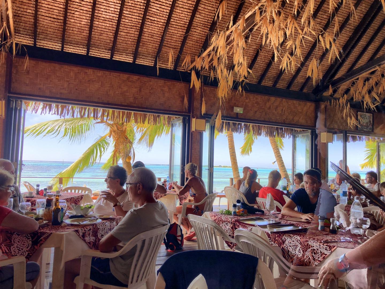 Strandrestaurant Les Tipaniers, Moorea