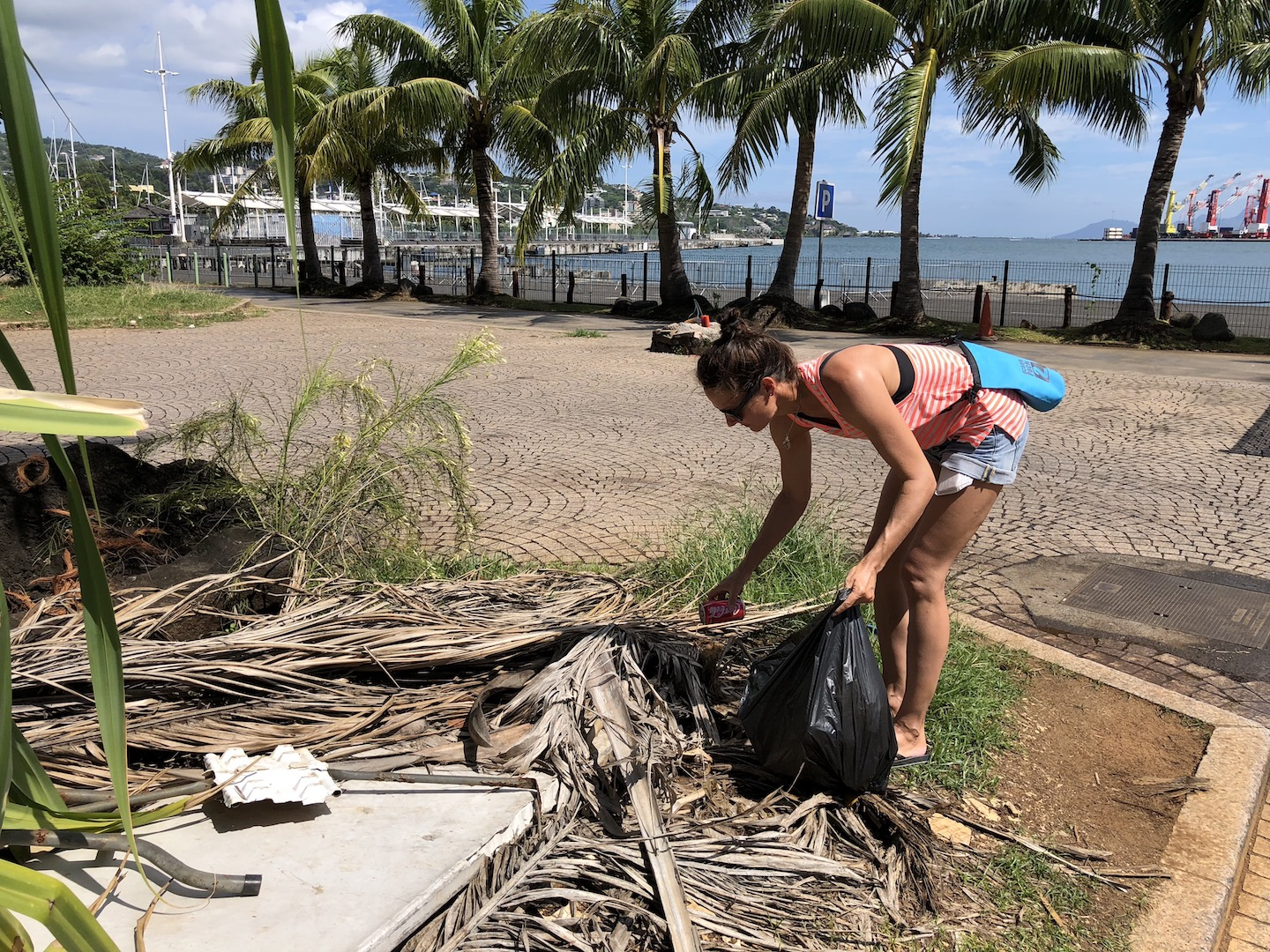 Clean Up in Papeete, Tahiti