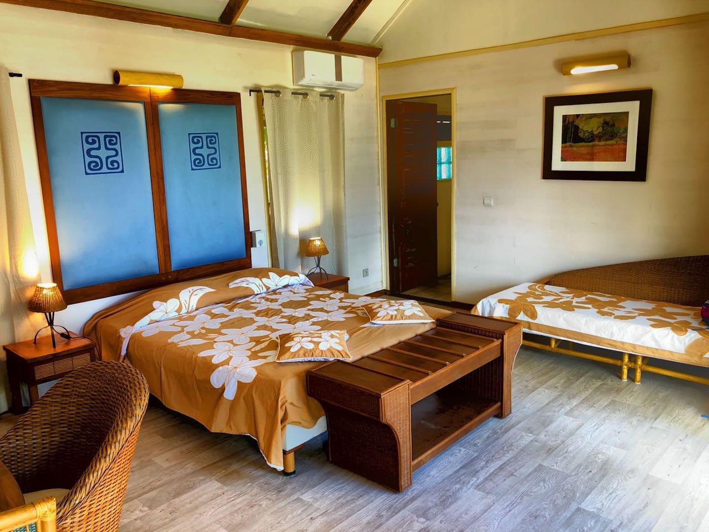 Unser zweiter Bungalow bei Chez Nono, Bora Bora, Südsee