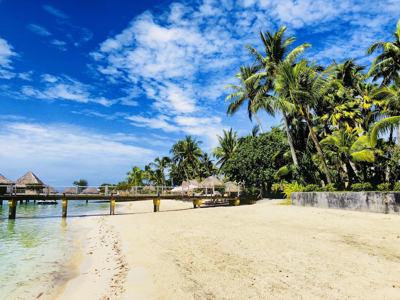 Strand von Bora Bora, French Polynesia