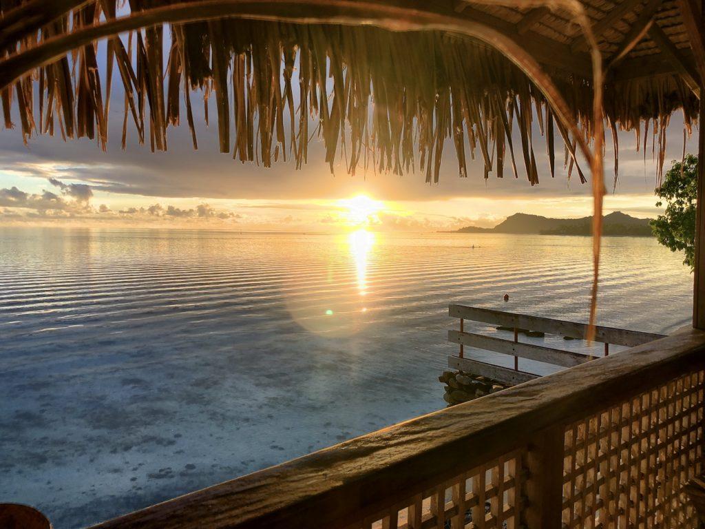 Sonnenuntergang, Bora Bora