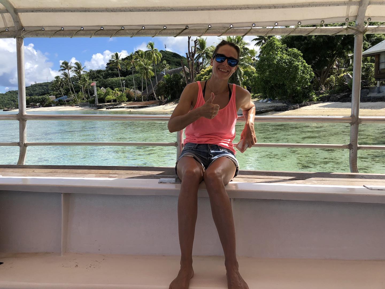Bootsausflug, Bora Bora, Südsee