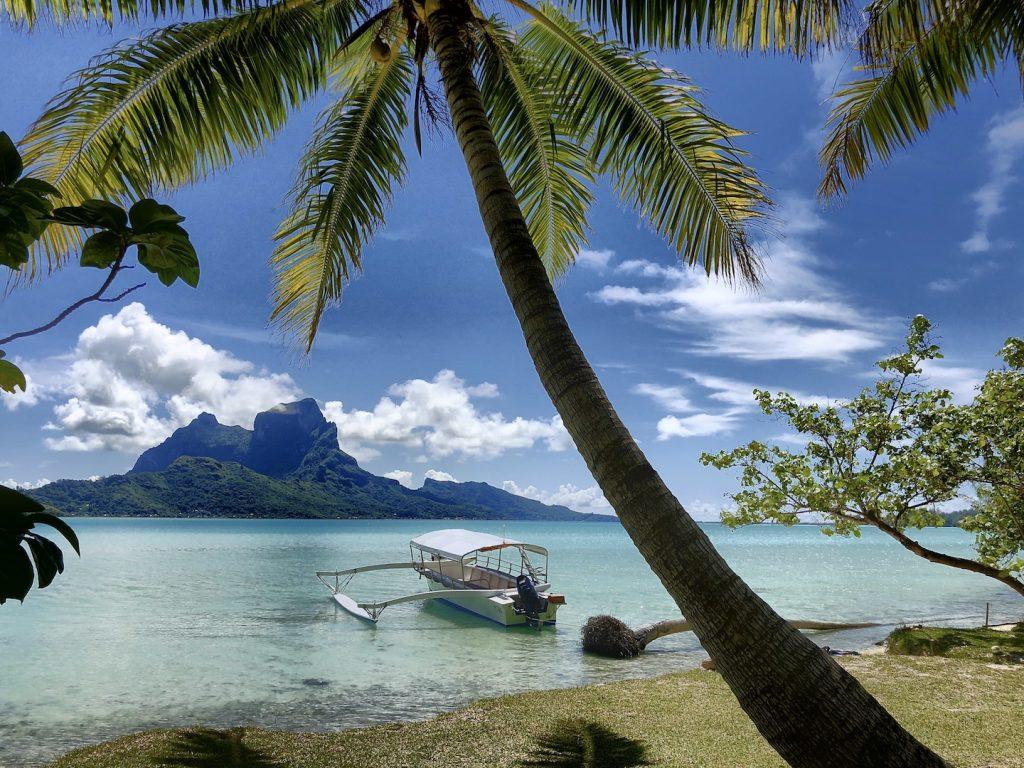 Motu von Bora Bora, Südsee Urlaub
