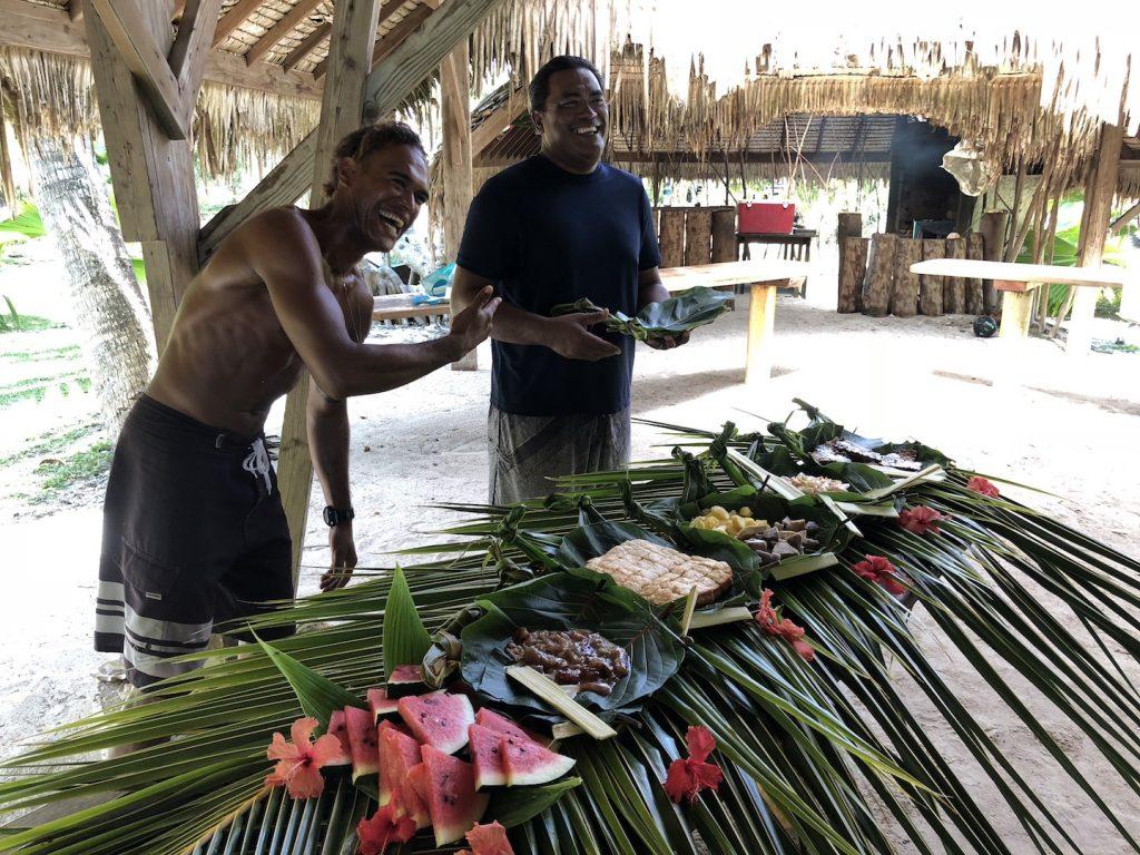 Südseepicknick auf Bora Bora