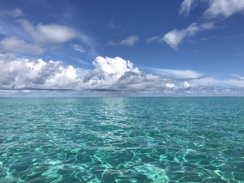 Wasser aus Bora Bora, Südsee