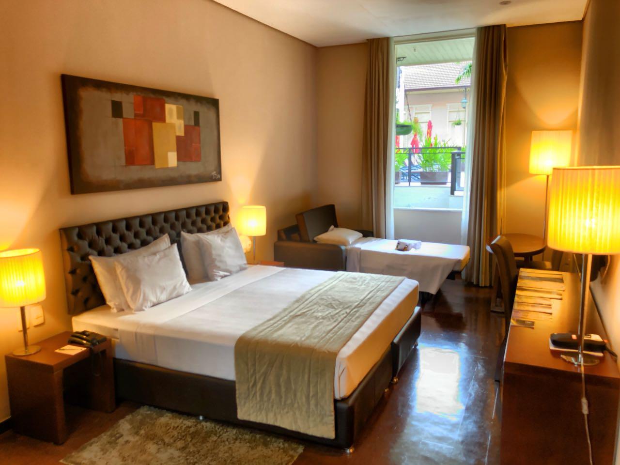 Zimmer im Hotel Vila Galé, Rio de Janeiro