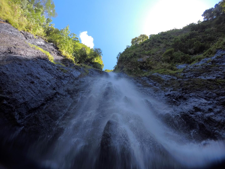 Vaimahutu Wasserfälle, Tahiti