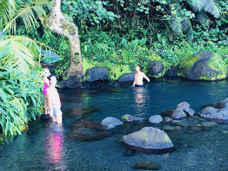 Vaima Fluss, Tahiti