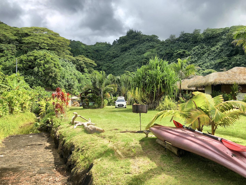 Bungalowanlage von Carlos, Tahiti